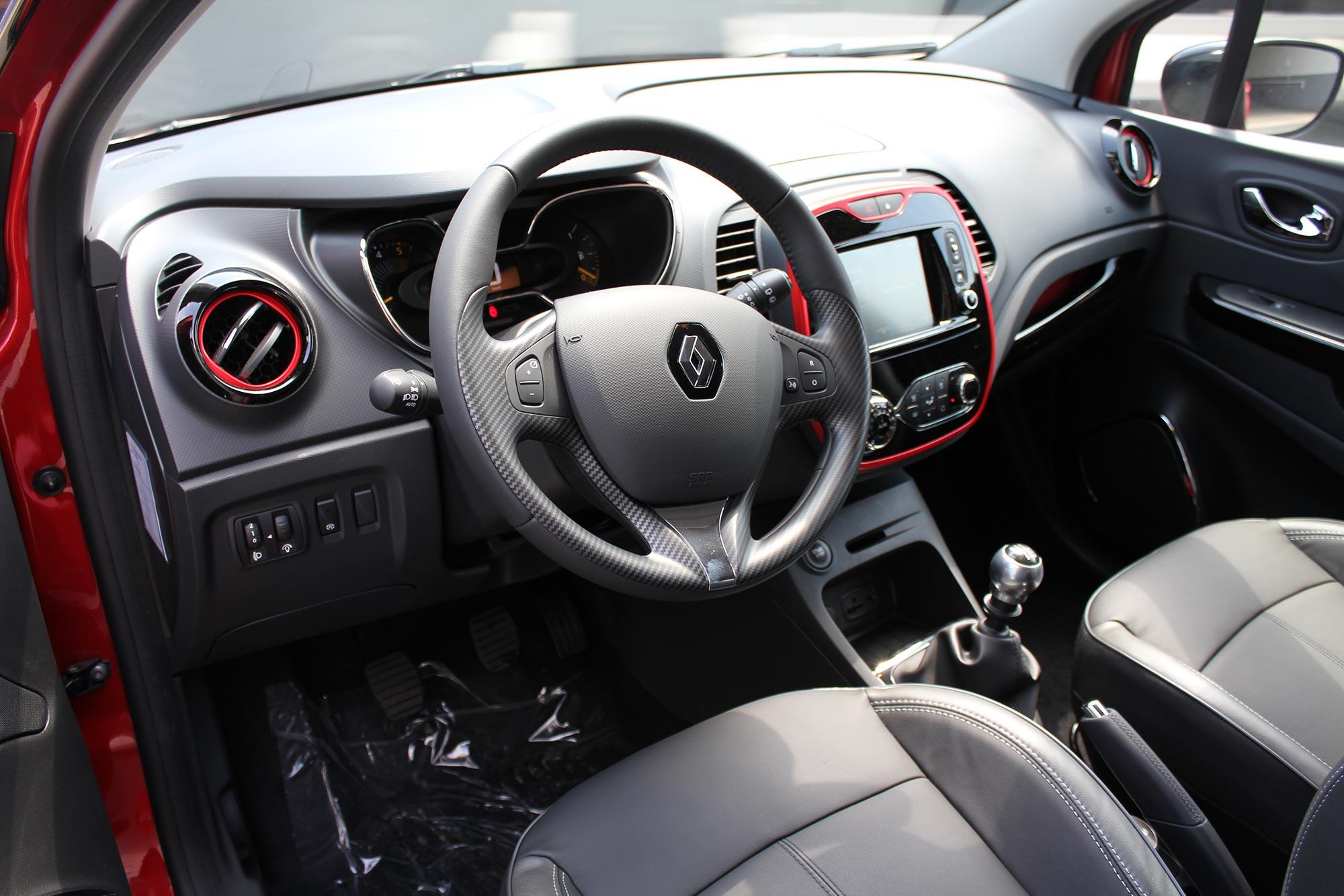 Renault Captur 1.5 Dci 110 Vlamrood-zwart - garage goethals wingene