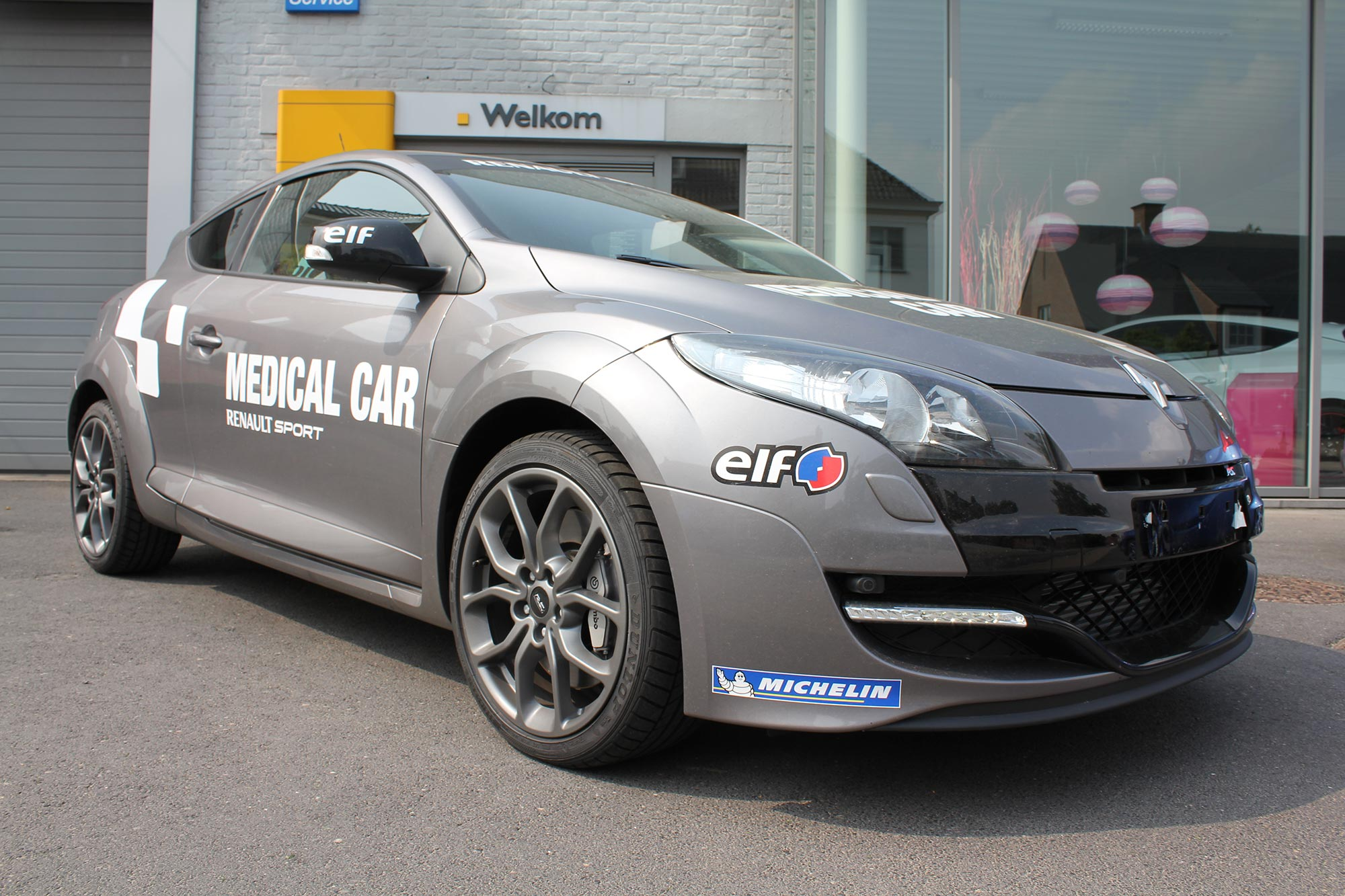 Megane RS MEDICAL CAR - Garage Goethals Wingene