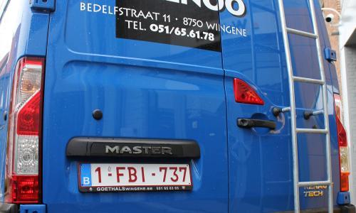Renault Master dubbele cabine L3 H2 125 PK garage goethals wingene